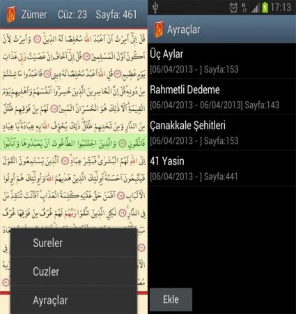 Kolay Hatlı Kuran-ı Kerim Mobil Uygulamasını indir