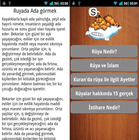 Dini Mobil Uygulama Rüya Tabirleri Programı indir
