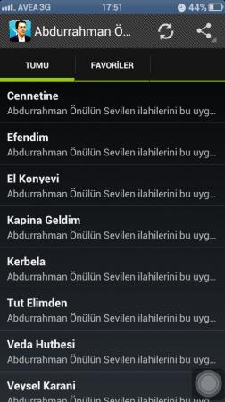 Abdurrahman Önül İlahileri mobil uygulaması