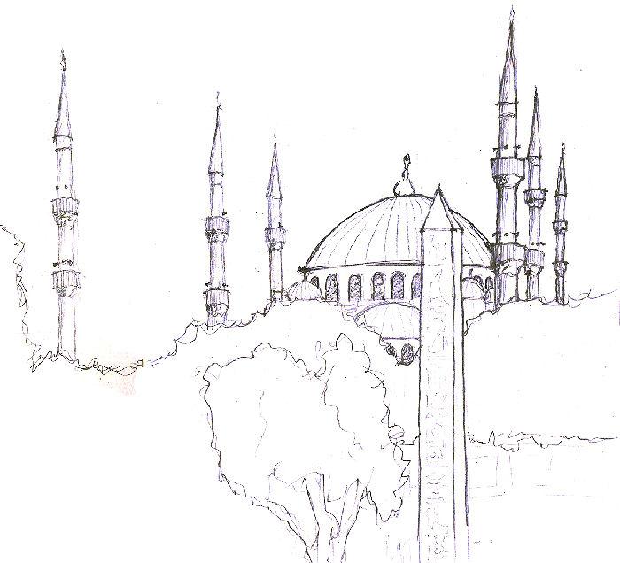 раскраска мечеть грозного качестве