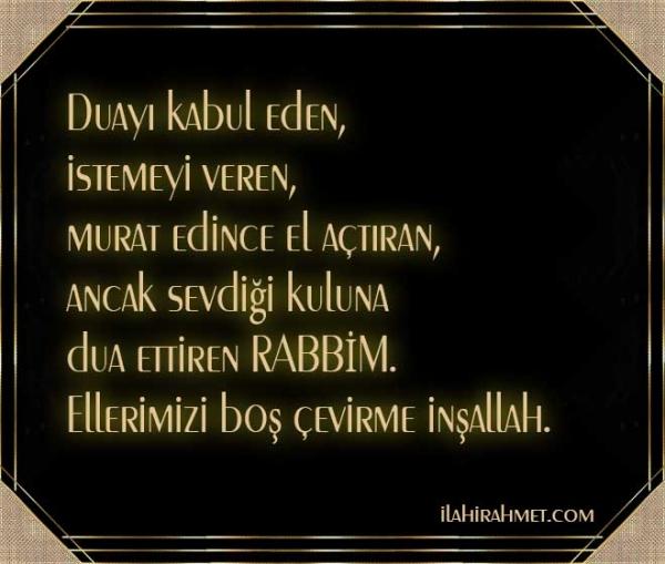 Resimli Günlük Türkçe Dualar