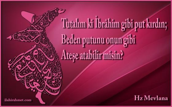 Mevlana Sözleri, Etkileyici Güzellikte Mevlana Sözleri (Resimli)