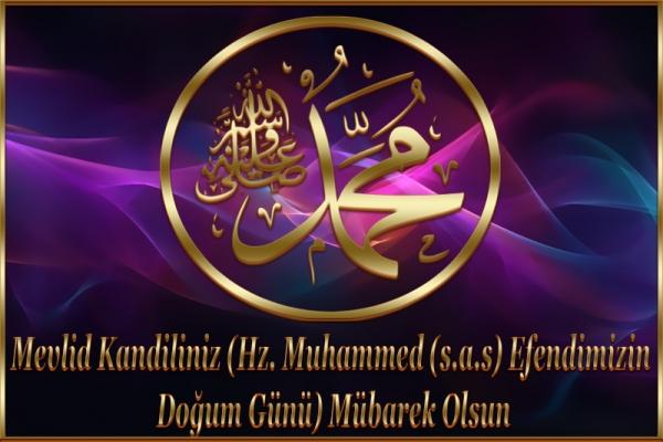 Mevlid Kandiliniz (Hz. Muhammed (s.a.s) Efendimizin Doğum Günü)