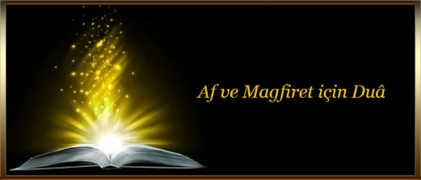 Af ve Magfiret için Dua