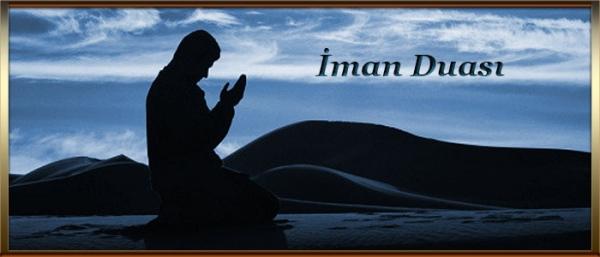iman duası