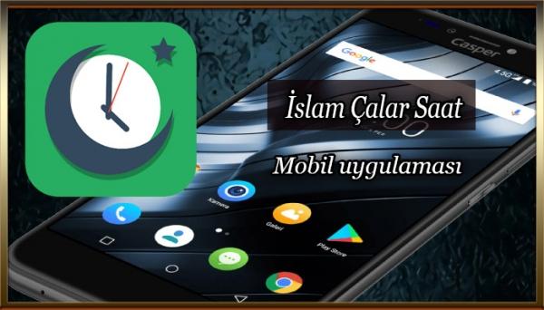 İslam Çalar Saat Mobil Uygulaması