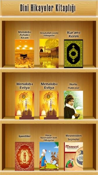 Dini Hikaye Kitaplığı Mobil Uygulaması