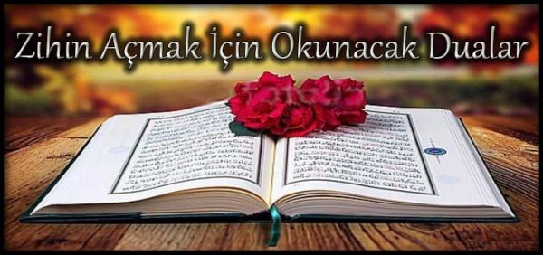 Zihin Açmak İçin Okunacak Dualar