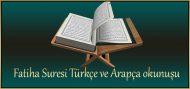 Fatiha Suresi Türkçe ve Arapça okunuşu – Meali