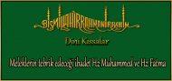 Meleklerin tebrik edeceği ibadet Hz Muhammed ve Hz Fatma (kıssadan hisse)