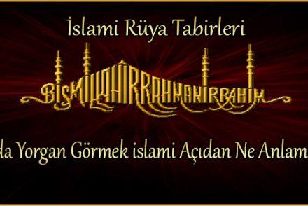 Rüyada Yorgan Görmek islami Açıdan Ne Anlama Gelir