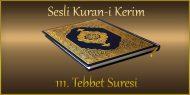 111. Tebbet Suresi, Fatih ÇOLLAK (sesli dinle takip ederek oku)