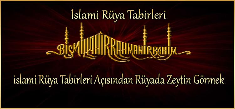 islami Rüya Tabirleri Açısından Rüyada Zeytin Görmek
