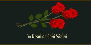 Ya Resullah ilahi Sözleri