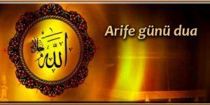 Arife günü dua