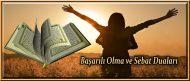 Başarılı Olma ve Sebat Duaları