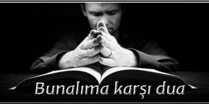 Bunalıma karşı dua