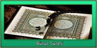 Büruc Suresi Türkçe ve Arapça Okunuşu Sesli Dinle