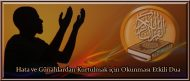 Hata ve Günahlardan Kurtulmak için Okunması Etkili Dua