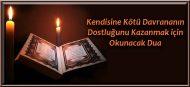 Kendisine Kötü Davrananın Dostluğunu Kazanmak için Okunacak Dua