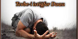 Tevbe-i istiğfar Duası