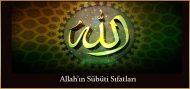 Allah'ın Sübüti Sıfatları