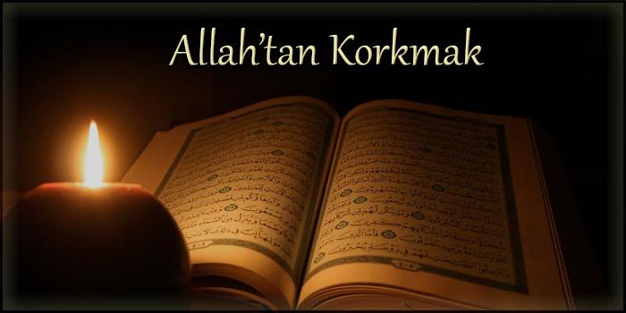 Allah'tan Korkmak