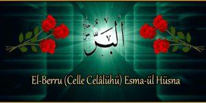 El-Berru (Celle Celâlühü) Esma-ül Hüsna