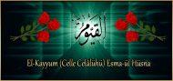 El-Kayyum (Celle Celâlühü) Esma-ül Hüsna