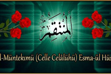 El-Müntekımü (Celle Celâlühü) Esma-ül Hüsna