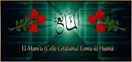 El-Mani'u (Celle Celâlühü) Esma-ül Hüsna