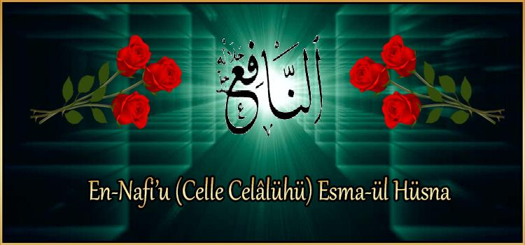 En-Nafi'u (Celle Celâlühü) Esma-ül Hüsna