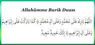 Allahümme Barik Duası ve Meali
