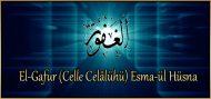 El-Gafur (Celle Celâlühü) Esma-ül Hüsna
