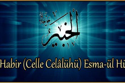 El-Habir (Celle Celâlühü) Esma-ül Hüsna