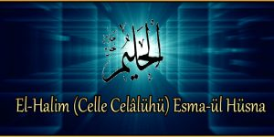 El-Halim (Celle Celâlühü) Esma-ül Hüsna