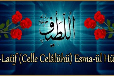 El-Latif (Celle Celâlühü) Esma-ül Hüsna