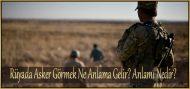 Rüyada Asker Görmek Ne Anlama Gelir?  Anlamı Nedir?