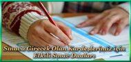 Sınava Girecek Olan Kardeşlerimiz için Etkili Sınav Duaları