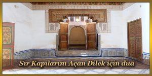 Sır Kapılarını Açan Dilek için dua