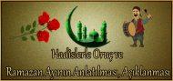 Hadislerle Oruç ve Ramazan Ayının Anlatılması, Açıklanması