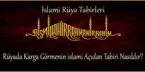 Rüyada Karga Görmenin islami Açıdan Tabiri Nasıldır?