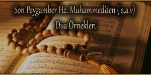 Son Peygamber Hz. Muhammed'den ( s.a.v) Dua Örnekleri