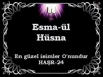 Esma-ül Hüsna (ALLAH'ın 99 ismi) Okuma Saatleri Günleri ve Faziletleri
