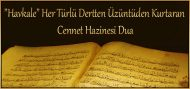 """""""Havkale"""" Her Türlü Dertten Üzüntüden Kurtaran Cennet Hazinesi Dua"""