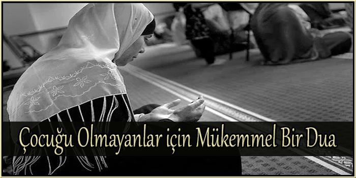 Çocuğu Olmayanlar için Mükemmel Bir Dua
