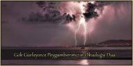 Gök Gürleyince Peygamberimizin Okuduğu Dua