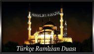 Türkçe Ramazan Duası