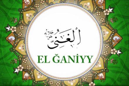 EL ĞANİYY