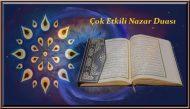 Çok Etkili Nazar Duası